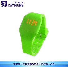 Promotional Silicone Touch Screen LED Watch Fashion Watch