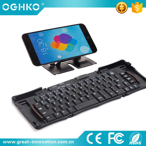 New coming Mini portable 69keys wireless tablet pc computer keyboard