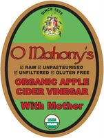 O Mahoney's Organic Apple Cider Vinegar