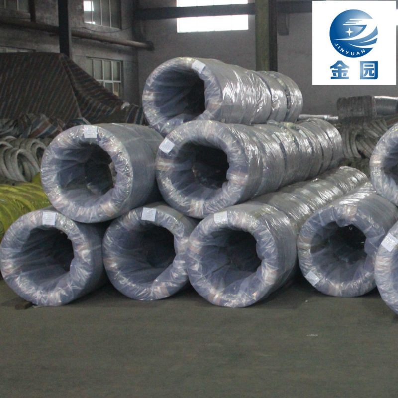 China supply low carbon electro galvanized steel spool iron wire