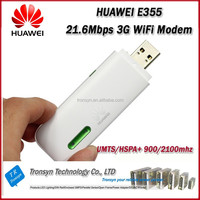 New Original Unlock HSPA 21.6Mbps HUAWEI E355 USB 3G WiFi Modem And 3G USB WiFi Driver