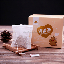 Hot Sale Natural Healthcare Ginger Tea with Pure Ginger Tea Granules Ingredients in Ginger Tea Bag