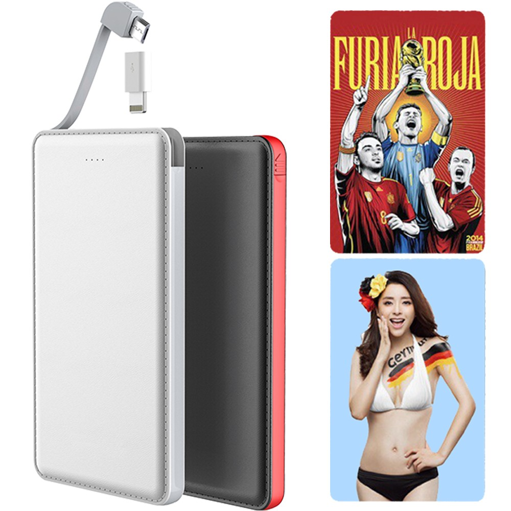 Digital LED Portable quick charger power bank 10000mah