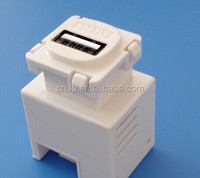 USB wall charger 5V 1A keystone type usb charger