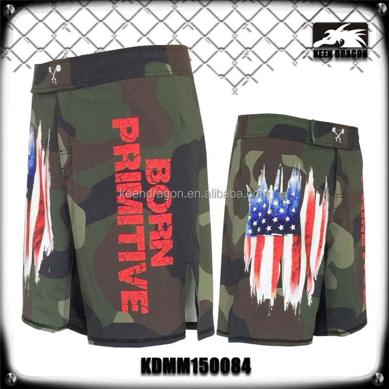 Crossfit Shorts Made In China 4-Way Stretch Fabric Boy Mma Shorts