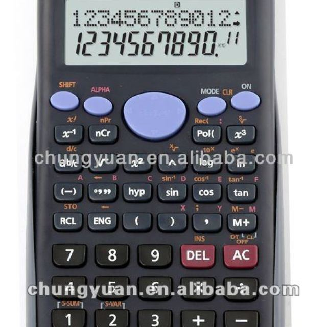 led screen big scientific calculator DM-82MS