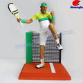 Plastic Tennis Player Statue, Tennis Player Handicraft, Plastic Player Figurine