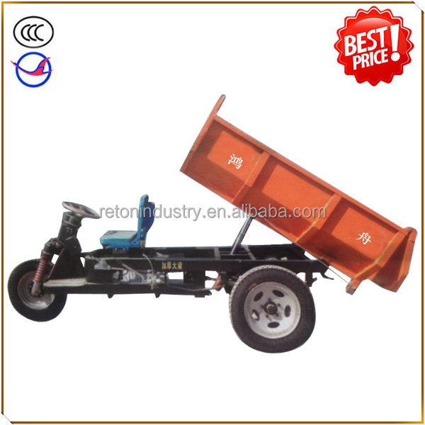 HZ800DCY battery operated e rickshaw for brick kiln transportation