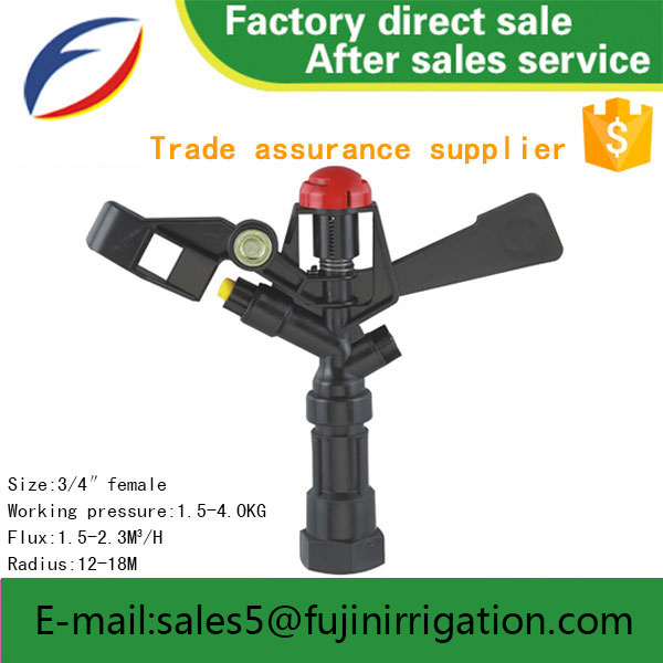 New design irrigation solenoid valve field irrigation sprinklers with great price