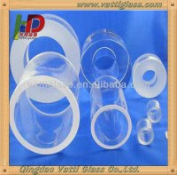 qingdao manufactory supply good quality heat resisting borosilicate glass tubes and quartz glass tube