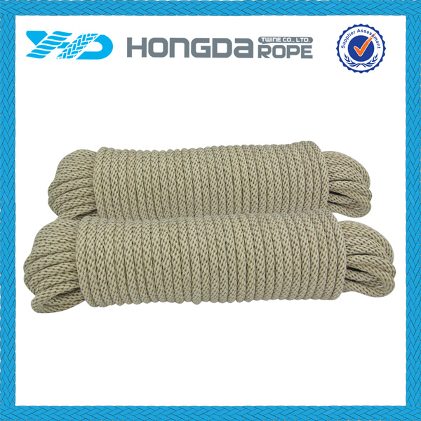 multi-purpose Soft polyester cotton rope for clothesline