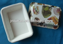 delicate design and healthy paper tray for food
