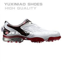 new style fashion men golf shoes sneakers sport for business high quality, adults high top golf shoes with spike made in china