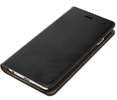 Stylish durable genuine leather cell phone case