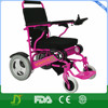 Brushless foldable handicap electric wheelchair