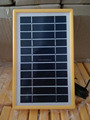 5000pcs of 3W/5.5V poly solar panel with plastic frame in stock for mobile phone charge