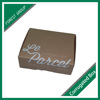 DOUBLE SIDES PRINTING KRFAT PAPER BOX FOR PACKING PARCELS