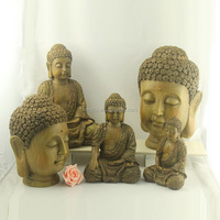 Made in China handmade wood buddha sculptures for sale