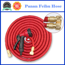 Garden Hose, 50 Ft, Heavy Duty Expanding Water Coil Best Flexible Expandable Retractable Collapsible Shrinking Hoses