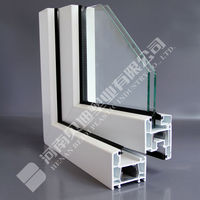 Best Price and Good Quality UPVC Germany Windows Designs PVC Frame Profiles/Latest Window Designs