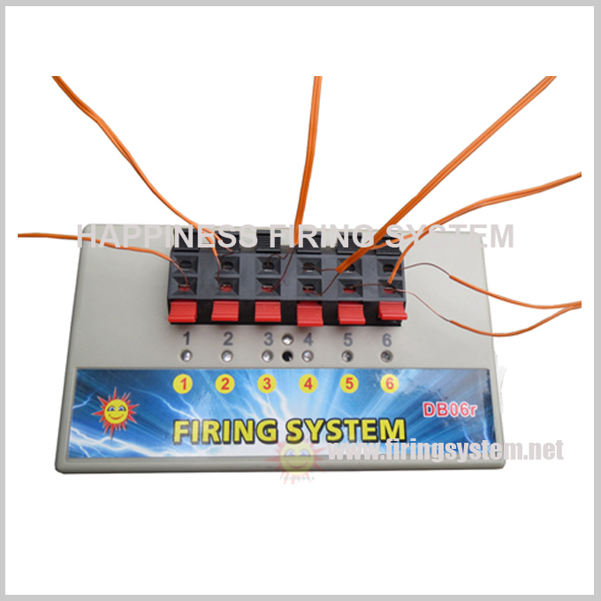 Factory hot sale 200M long distance remote wireless control sequential consumer fireworks firing system