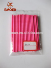 Wholesale candy customized paper lollipop stick