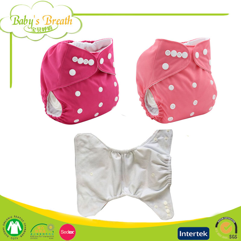 PSF-01 printed leak guard abdl thick adult aio cloth diapers all in one