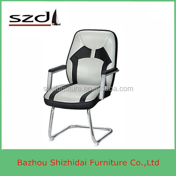Cheap Leather Office Chair Executive Chair Without Wheels SD-5313V