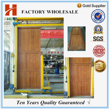 Powder coated aluminium profile design drawing room door