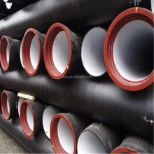 Top quality ductile cast iron pipe 10 inch used for gas oil