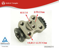 Original JAC truck HFC6800 rear brake wheel cylinder 3502060Z14