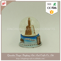 High Quality Resin Customized stonehenge snow globe