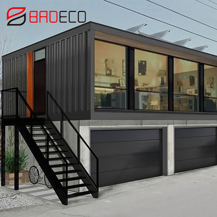 Hot Prefabricated 20feet MGO Sandwich panel australia expandable container house for sale