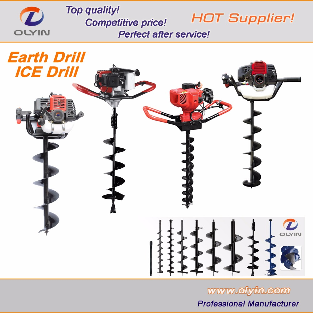 High quality direct factory useful manual earth auger / auger for earth drilling for sale