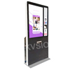 OEM Available Custom capacity outdoor information building kiosk furniture advertising full viewing angle