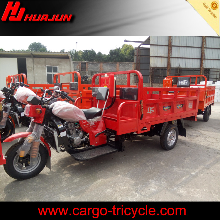 high quality hot sale china factory heavy load powerful cabin three wheel motorcycle for sale