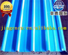color corrugated steel sheet section arch roof structure