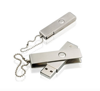 Custom metal swivel usb 2.0 drive twister Pendrive 4 8 16 32gb with Keychain