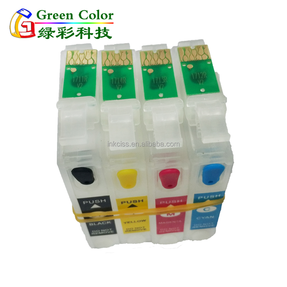T1711 T1712 T1713 T1714 refill cartridge with chip for Epson XP-33/103/203/306/403/406/313/413