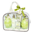 promotional gift for mother's day father's day birthday wedding gift with PVC bag bath spa gift set