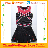 100% polyster custom own logo sublimation cheer uniforms ,cheer dance costumes for team