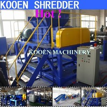 car truck waste used tyre / tire shredder for sale