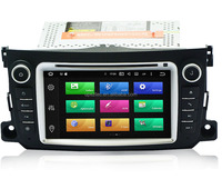 "Android 5.1 system 7"" size digital TV and gps DAB OBD wifi quad core Car DVD player for Benz SMART 2012-2015"