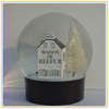 Custom souvenir christmas gift power-operated snowing effect christmas snow globe china factory