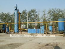 Wood chips biomass gasification power plant