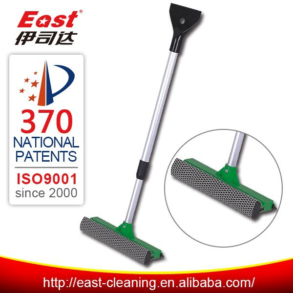 "8"" snow brush ice scraper with squeegee"