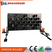 Factory Directly Supply Aluminium 1520x760 mm Black led arrow board