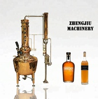 Micro moonshine still home alcohol distillation equipment/moonshine distillery/copper distiller