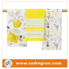 Promotional Cotton Custom Printed Tea Towel Kitchen Towel