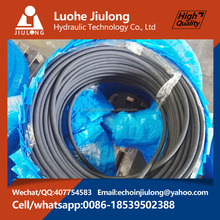Lowest Price High Pressure Flexible Wire Braid Fuel Rubber Oil Tanker Hose Pipe